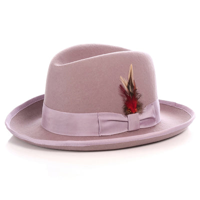 Ferrecci Premium Lavender Godfather Hat