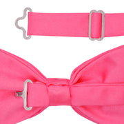 Gia Fuchsia Satine Adjustable Bowtie