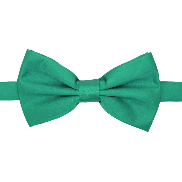 Gia Teal Satine Adjustable Bowtie - Ferrecci USA
