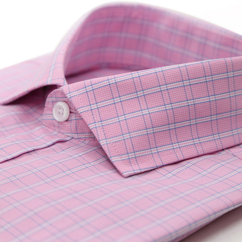 The Henley Slim Fit Cotton Dress Shirt