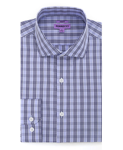 The Jagger Slim Fit Cotton Dress Shirt - Ferrecci USA