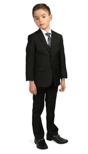 Ferrecci Boys JAX JR 5pc Suit Set Black - Ferrecci USA