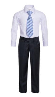 Ferrecci Boys JAX JR 5pc Suit Set Charcoal - Ferrecci USA