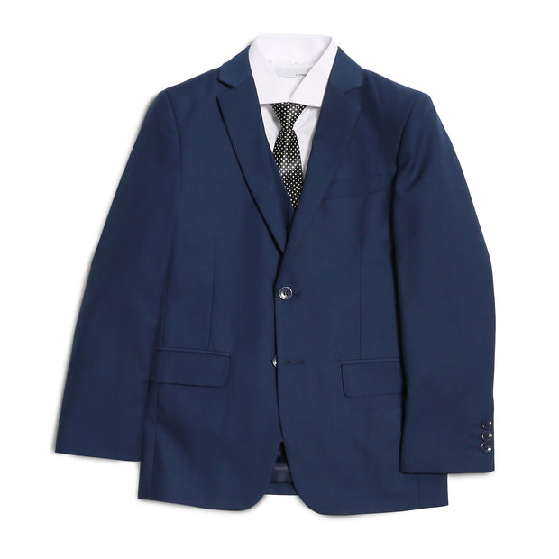 Ferrecci Boys JAX JR 5pc Suit Set Indigo