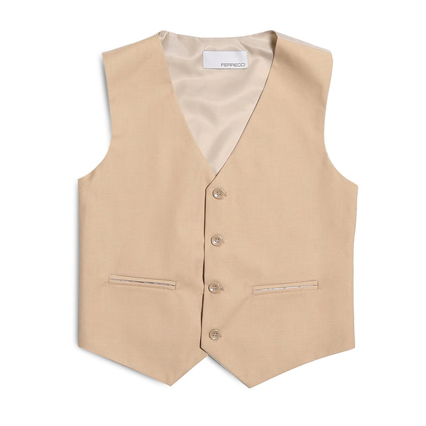 Ferrecci Boys JAX JR 5pc Suit Set Tan - Ferrecci USA