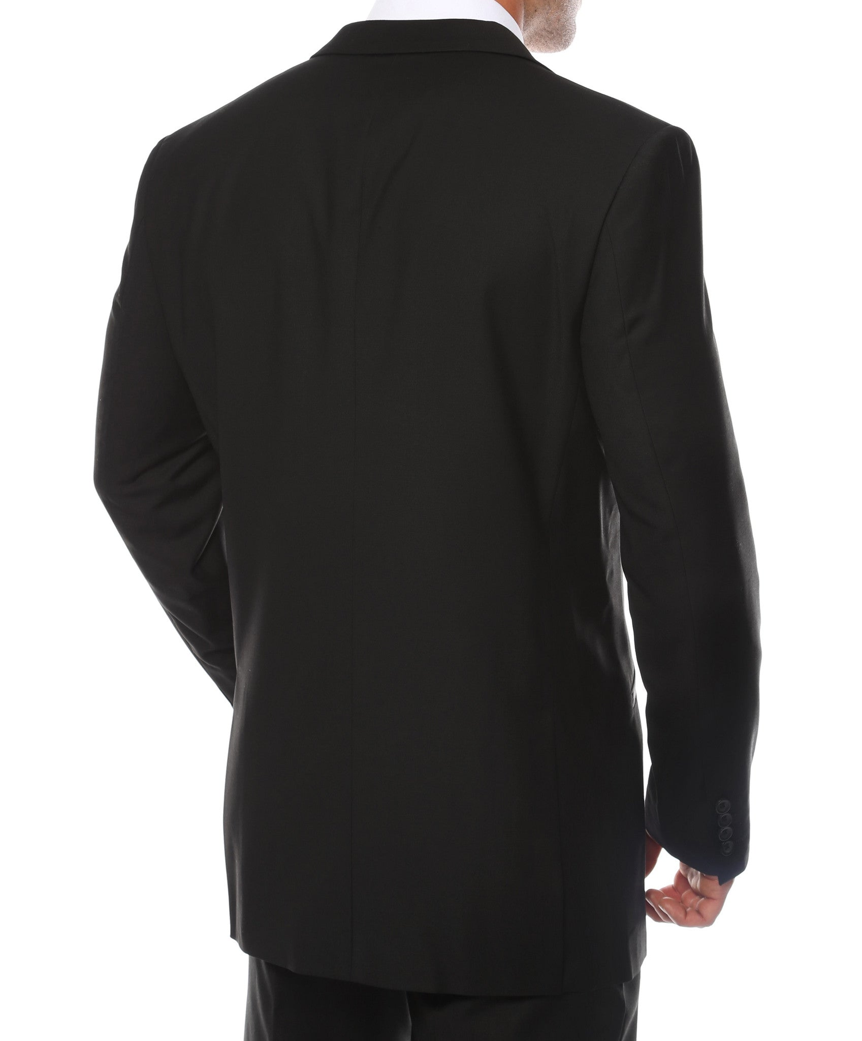 The JerseyBoy Black Grey Slim Fit Mens Blazer