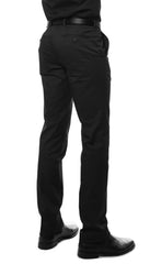 Zonettie Kilo Black Straight Leg Chino Pants