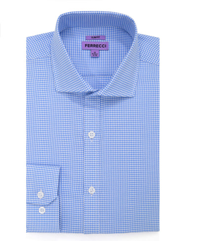 The Knox Slim Fit Cotton Dress Shirt - Ferrecci USA