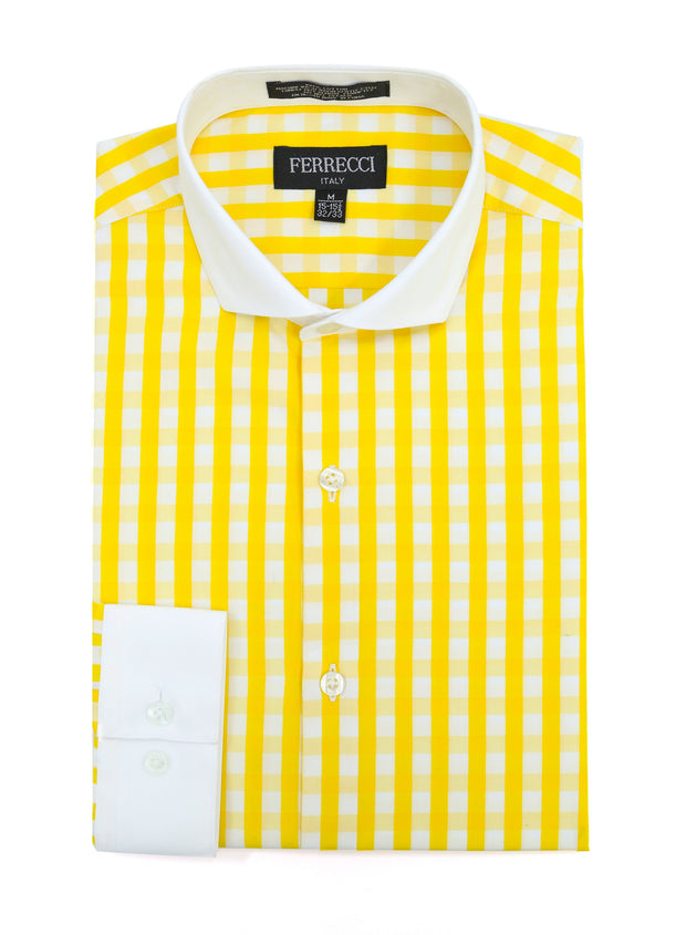 The Maxwell Slim Fit Cotton Dress Shirt