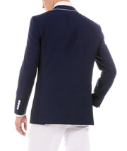 Porter Navy Men's Slim Fit Blazer - Ferrecci USA