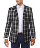The Preston Plaid Check Slim Fit Mens Blazer