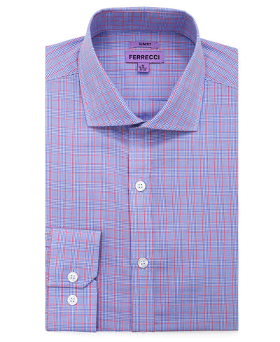 The Princeton Slim Fit Cotton Dress Shirt - Ferrecci USA