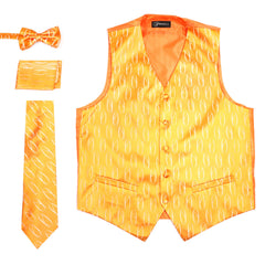 Ferrecci Mens PV100 - Orange Vest Set