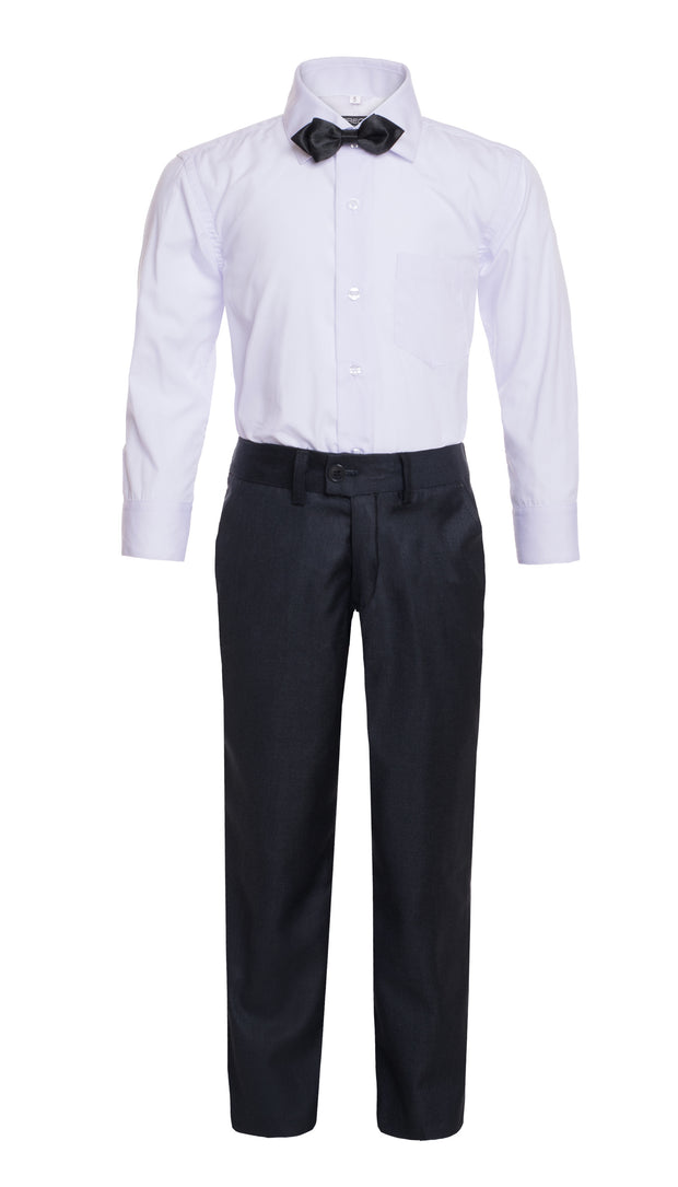 Boys Reno JR 5pc Navy Shawl Tuxedo Set - Ferrecci USA