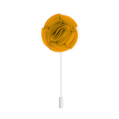 Ramona 15 Yellow Lapel Pin