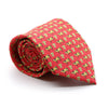 FHY INC red cow print tie