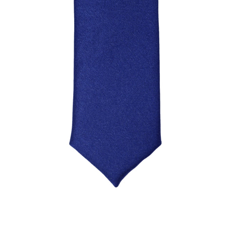 Super Skinny Royal Blue Shiny Slim Tie