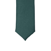 Super Skinny Teal Shiny Slim Tie