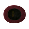 Premium Wool Burgundy Top Hat