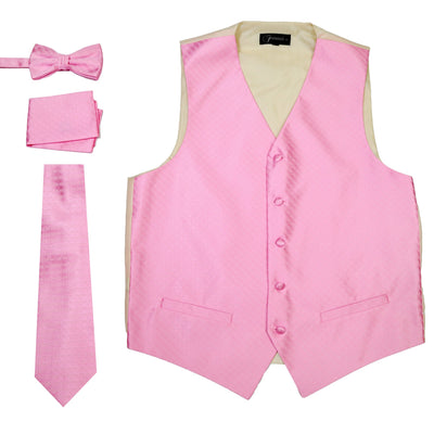 Ferrecci Mens 300-19 D Rose Diamond Vest Set - Ferrecci USA