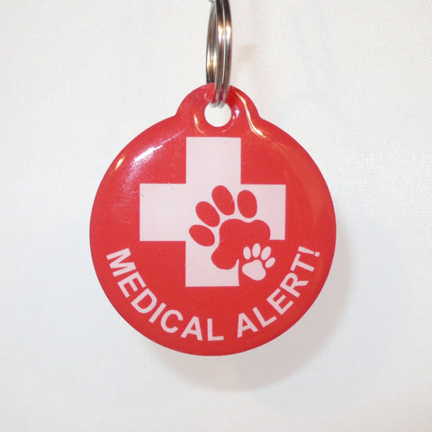 Medical Alert GPR Pet Tag
