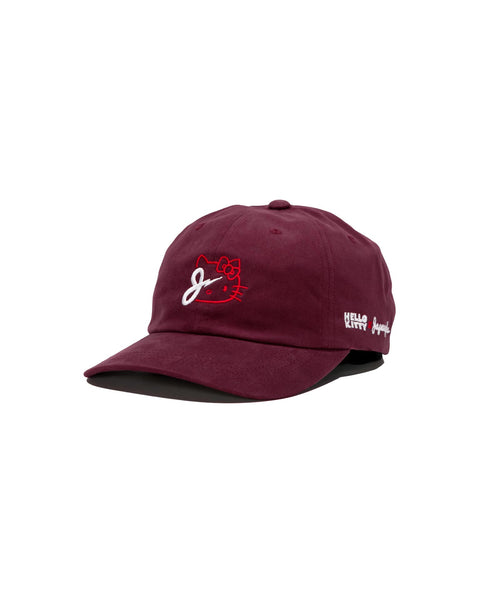KITTY BOLT DAD HAT IN MAROON