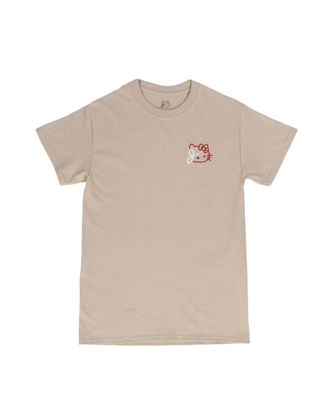 KITTY BOLT TEE IN SAND