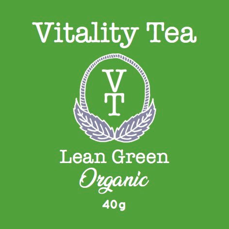 Tea - Vitality Tea - Morning Green - 40gms