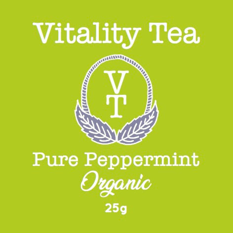 Tea - Vitality Tea - Pure Peppermint - 25gms