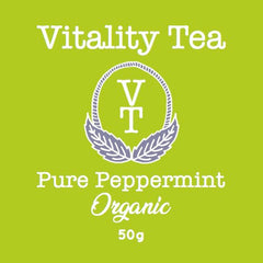 Tea - Vitality Tea - Pure Peppermint - 50gms
