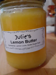 Butter - Julie's - Lemon Butter 250mls