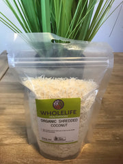 Wholelife Shredded Coconut Organic 200gms