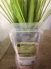 Wholelife Himalayan Pink Salt Coarse 350gms