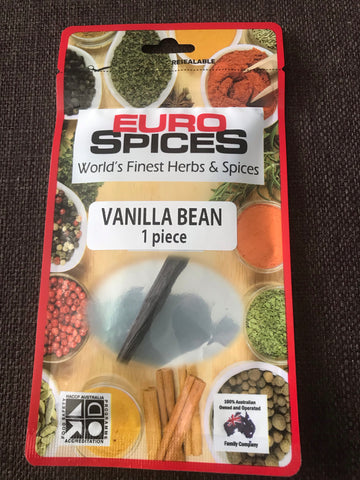Euro Spices - Vanilla Bean (1 piece)