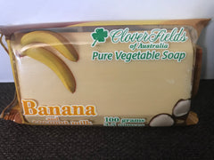 Soap - Cloverfields  - Banana & Coconut Milk - 100gms