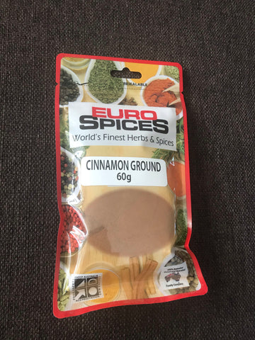 Euro Spices - Cinnamon Ground 60gms