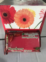 Soap - Cloverfields - Strawberry & Sunflower - 100gms