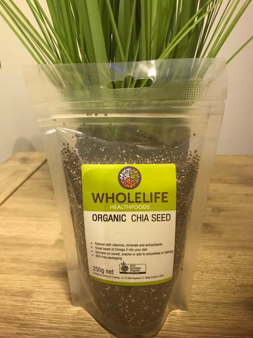 Wholelife Chia Seed Organic 250gms