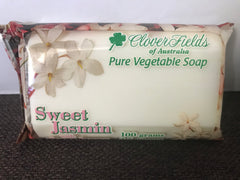 Soap  - Cloverfields -  Sweet Jasmin with Clover Honey 100gms