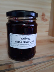 Jam - Julie's - Mixed Berry Jam 250mls