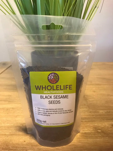 Wholelife Black Sesame Seeds 250gms