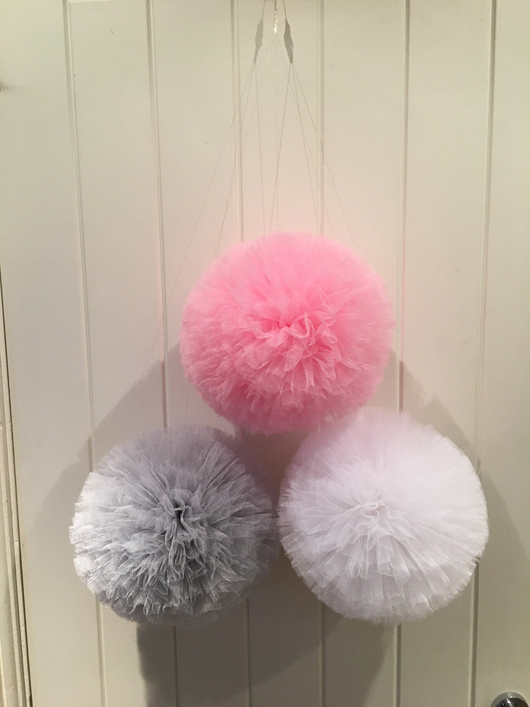 Singular or Garland of  pom-poms all colours available