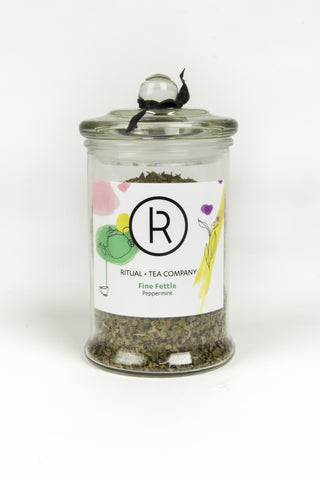 Glass Collectors Jar