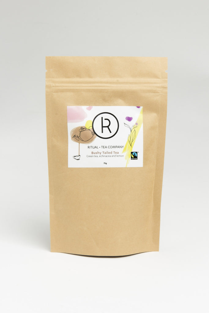 Bushy Tailed Tea - Green tea with echinacea and lemon - 75g