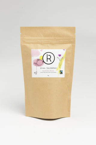Smell the Roses - Green tea with pink rose petals - 70g