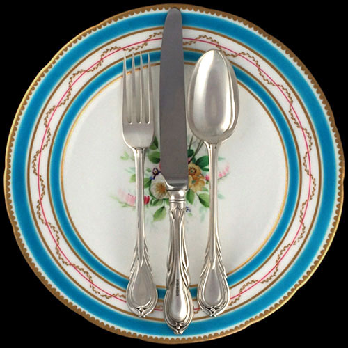 Old English Pattern Silver Flatware