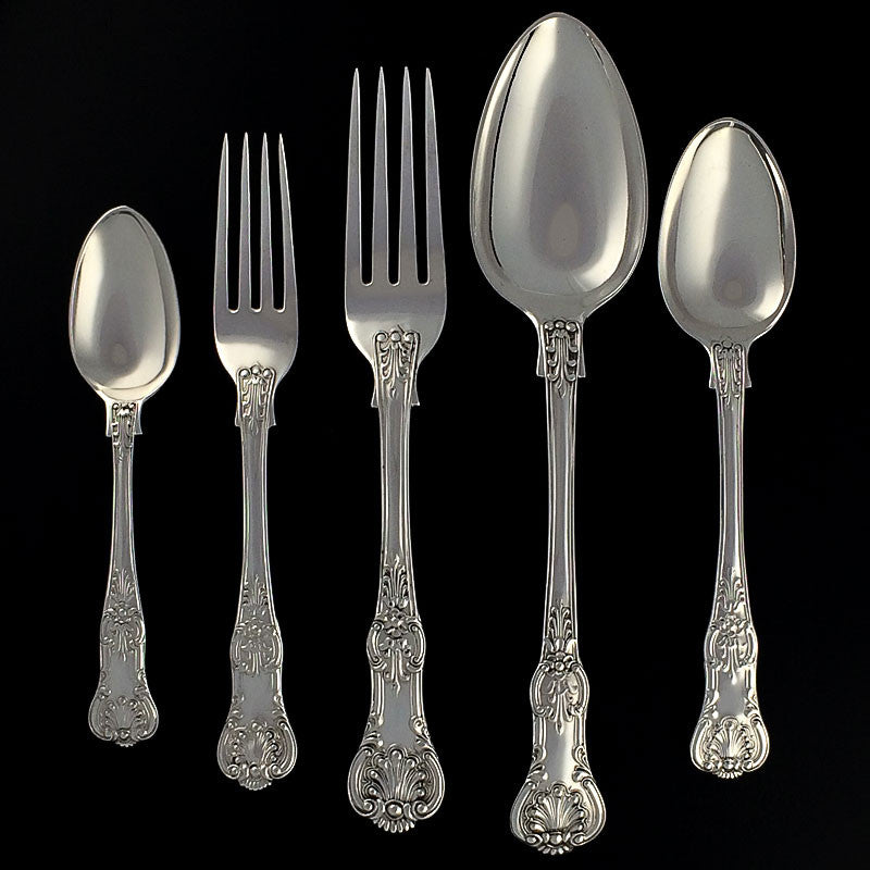 Sterling Silver Queens Pattern Flatware
