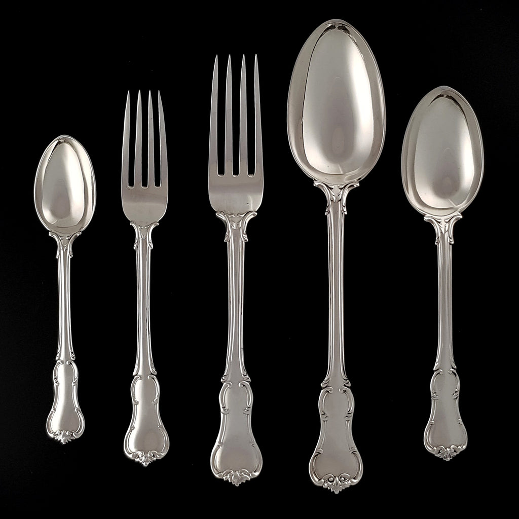 Sterling Silver Princes Pattern Flatware