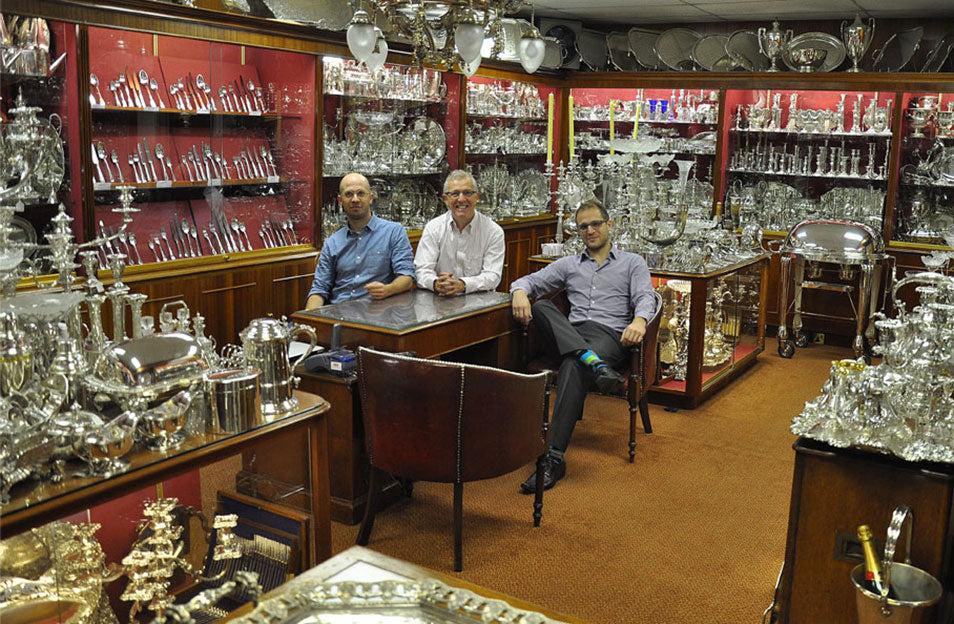 The I.Franks Family of Silver Experts, Eric, Daniel and Jonathan Franks