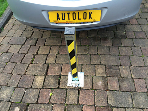 Autolok Car and Vehicle Fold Down Security Post